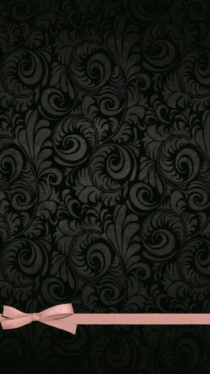 Fancy Black   Phone Wallpaper, Bow Wallpaper, Android Wallpaper
