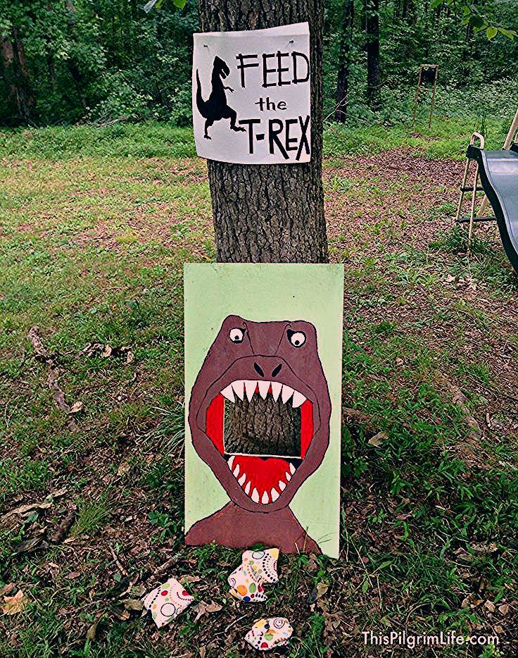 Photo of Outdoor Dinosaur Birthday Party – This Pilgrim Life
