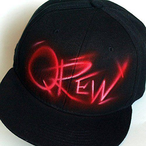 137da5b8ce818 Personalized Snapback hat cap with custom Graffiti Name or initials ...