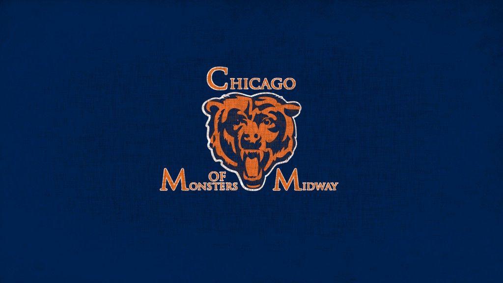 Chicago Bears New Logo Hd Wallpaper 1080p Chicago Bears Wallpaper Chicago Bears Logo Chicago Bears Game