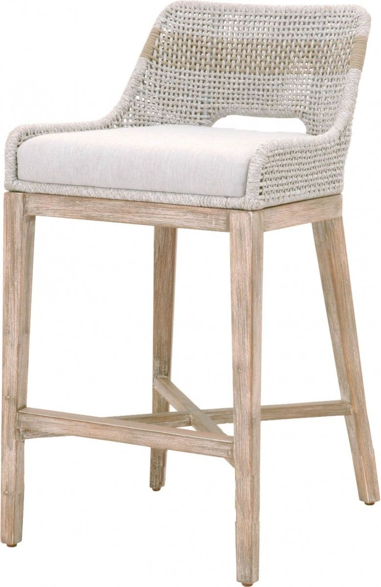 Tapestry Wicker Natural Gray Barstool Counter Stools Furniture