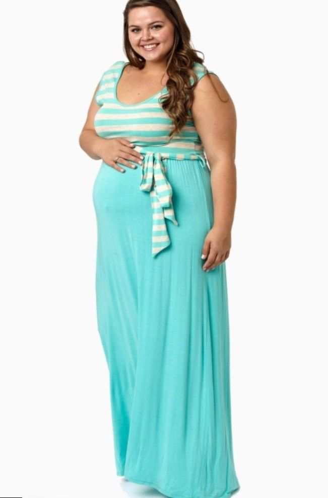 Pin by Anna Plus on Maxi dress fashion | Plus size maxi ...