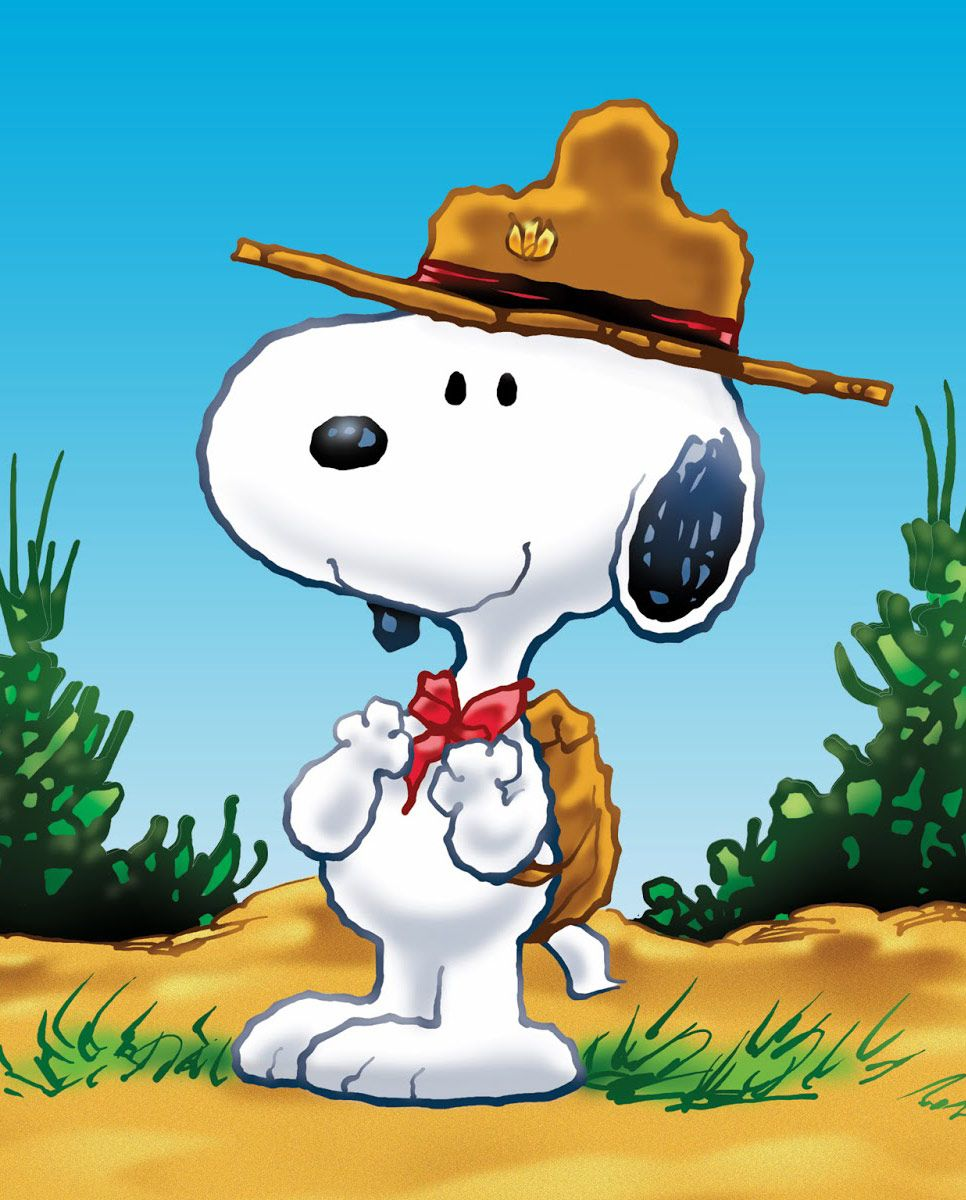Scout Day with Snoopy ♥ also see funny cartoons pics www