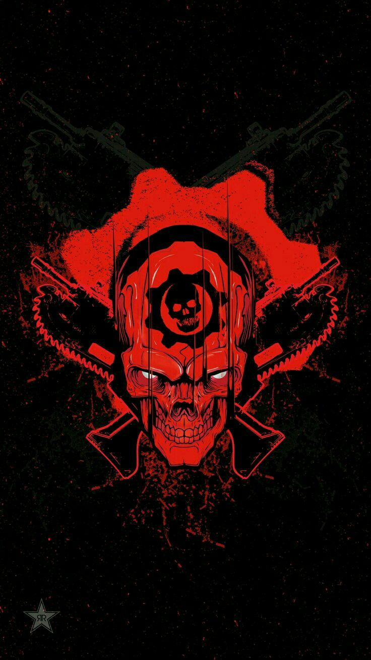 Possible Tattoo For Me In The Future Gears Of War Skull Wallpaper Wallpaper Pc