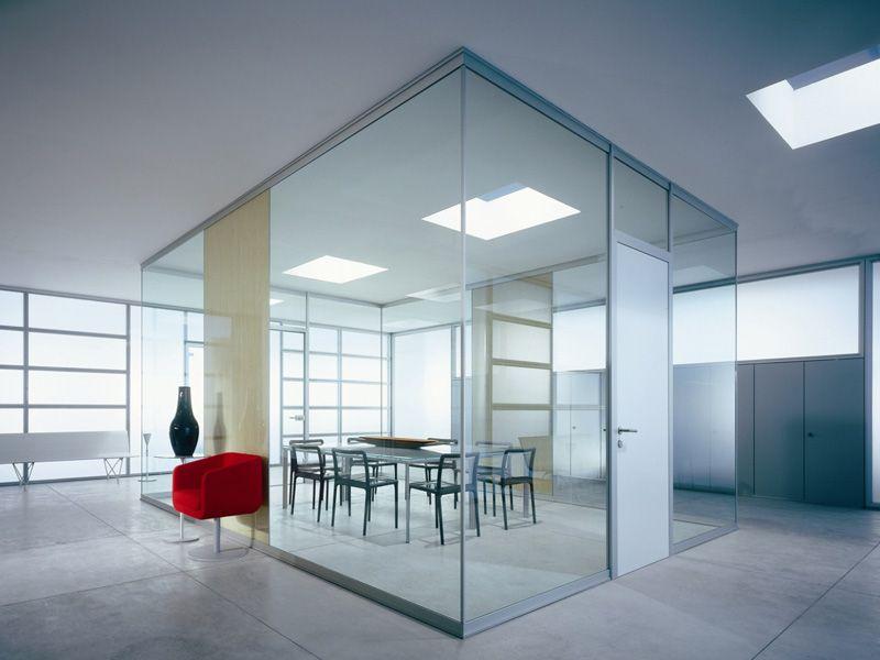 Partizioni interne tutto vetro office for Mascagni arredamenti