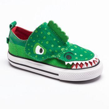 Toddler converse, Dinosaur shoes