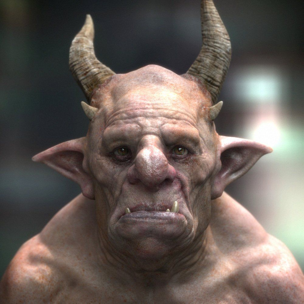 ogre pictures ogre picture 3d creature ogre fantasy scary