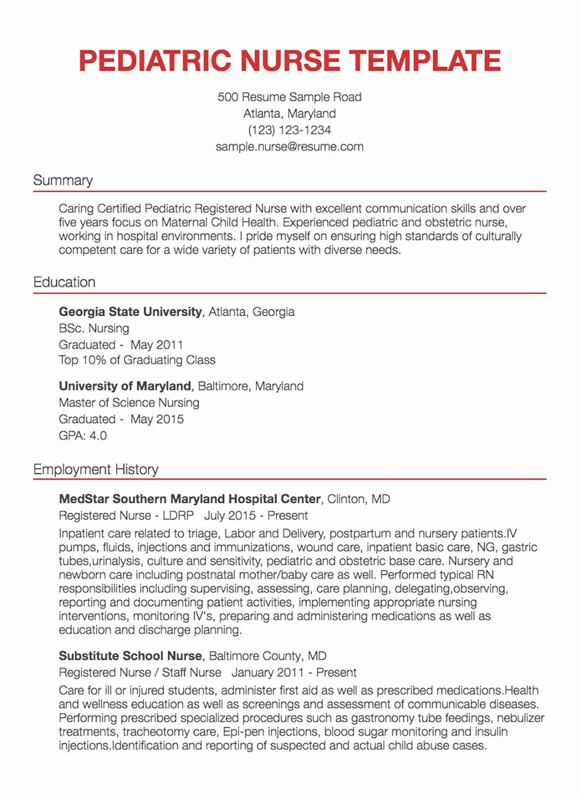 Nursing Clinical Experience Resume New 30 Nursing Resume Examples Samples Written By Rn Manag Registered Nurse Resume Nursing Resume Examples Resume Examples