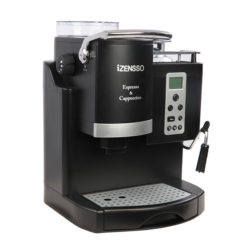 Automatic Espresso Machine Coffee Maker with Grind Bean in