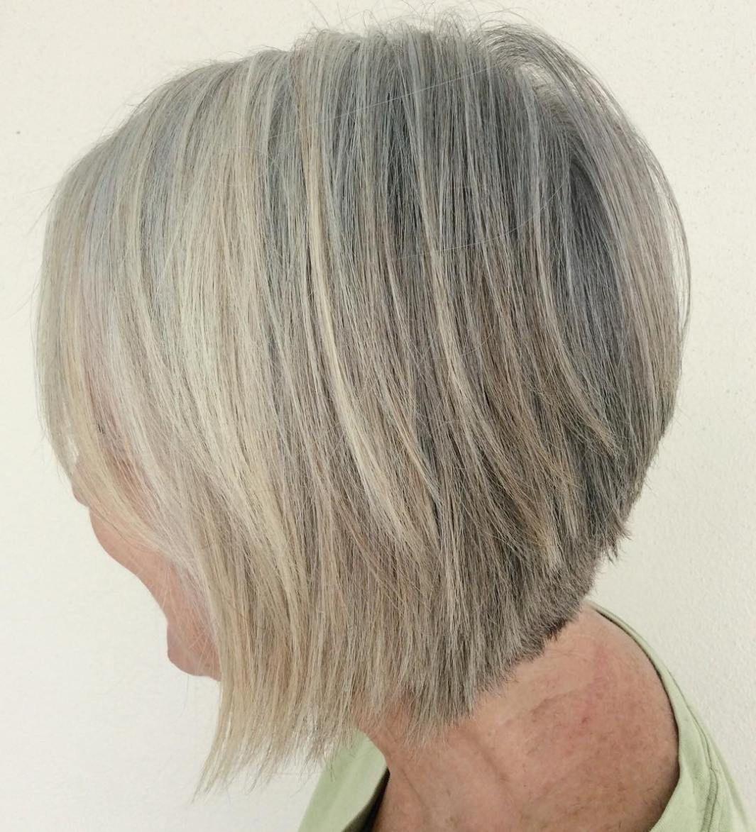 60 Gorgeous Gray Hair Styles In 2019 Bouffant Hair Grey