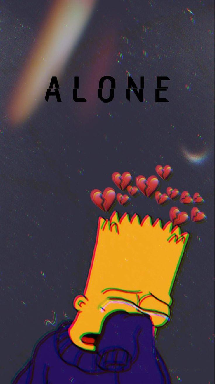 Sad Wallpaper Bart Simpson | Quotes and Wallpaper C
