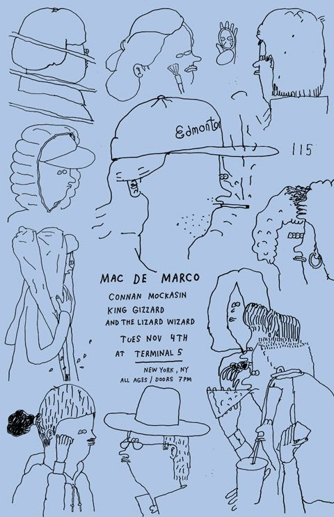 Mac Flyer Demarco Music Poster Music Illustration