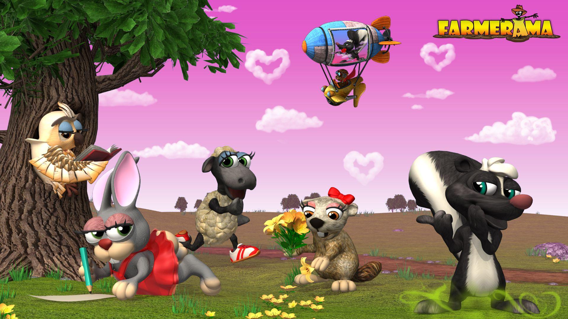 Online Farm Game : Farmerama Wallpaper | Farmerama | Farm