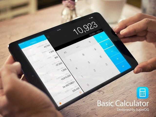 Basic Cal Pro Calculator App With Calculation History App Saga