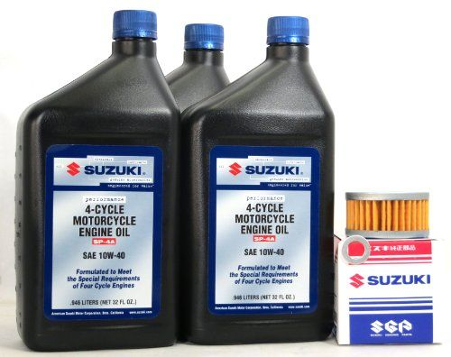 2004-2009 Suzuki LT-Z400 Oil Change Kit Formulated to provide ...