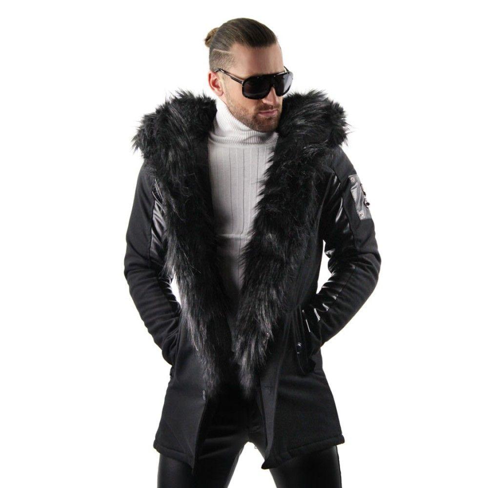 Faux Fur Lined Parka Faux Fur Coats Outfit Fur Hood Jacket Fur