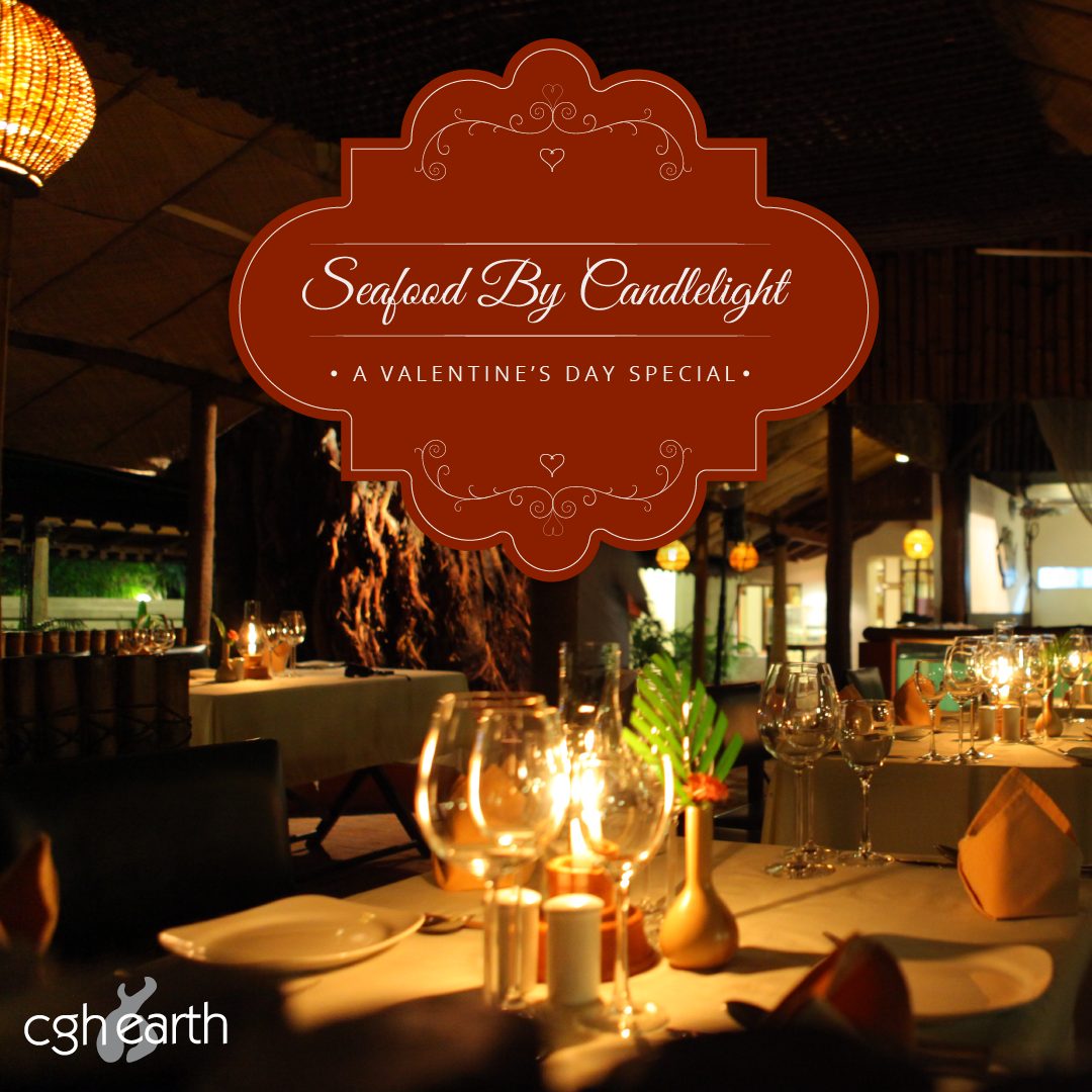 Treat your valentine to a romantic candlelight dinner at