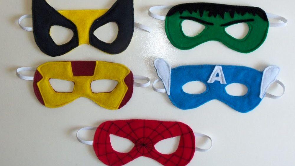 fabriquer un masque diy 4 enfants pinterest masque deguisement et anniversaire super heros. Black Bedroom Furniture Sets. Home Design Ideas