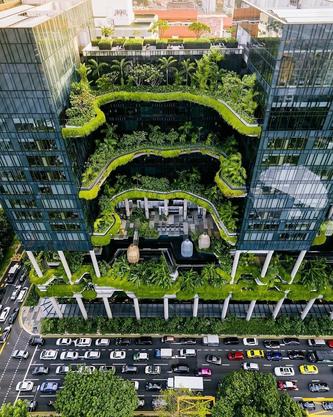 Singapore When Architecture Meets Nature An Idea Of Our Future Cities Bennytgh Pepsl Green Building Architecture Eco Buildings Green Architecture