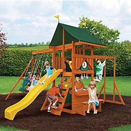Big Backyard By Solowave® U0027Kingswoodu0027 Play Set | Sears Canada