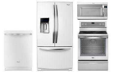 Whirlpool Gold White Ice Appliance Package With Electric Range - Abt appliance package