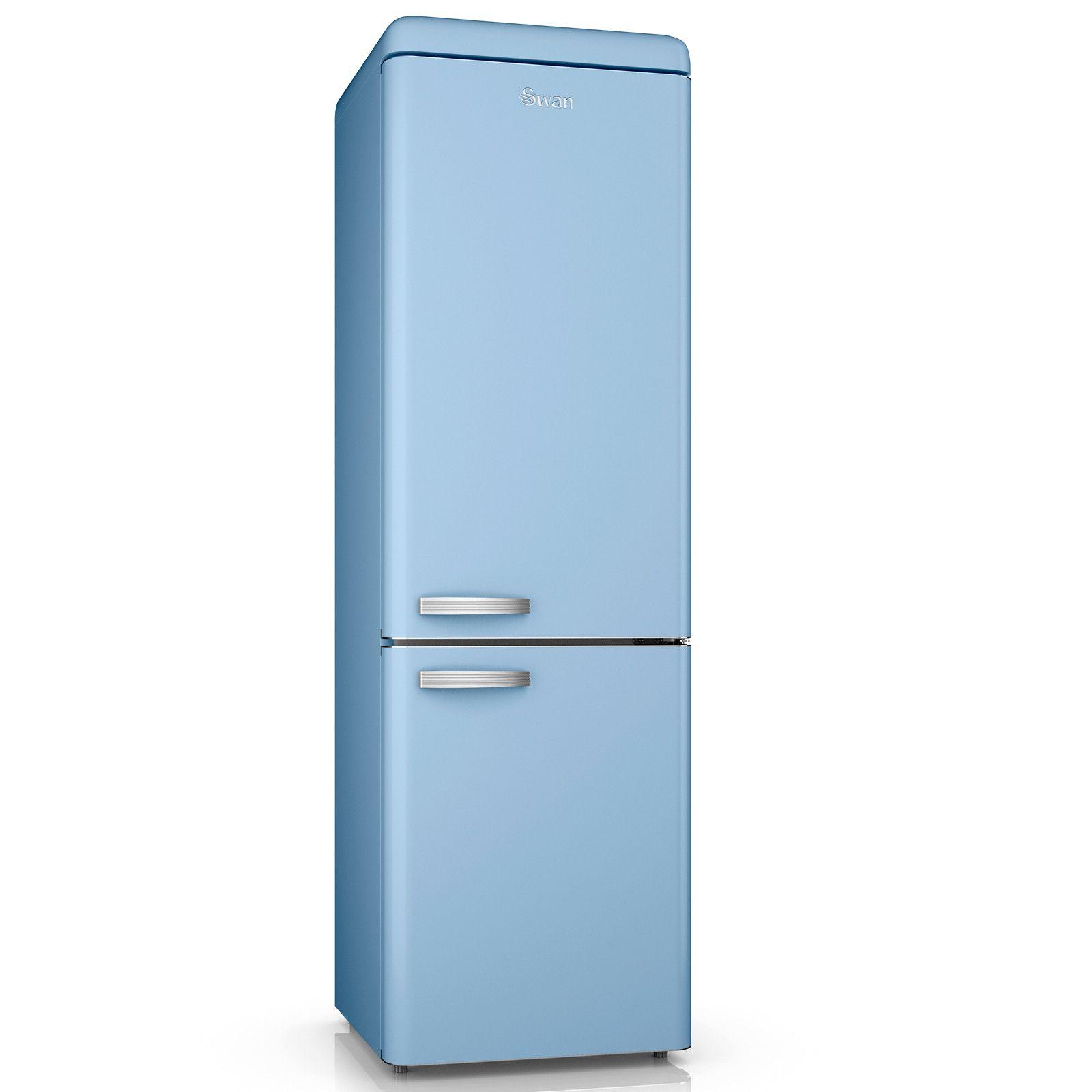 Swan Retro Blue 70/30 Fridge Freezer | Kitchen | Pinterest