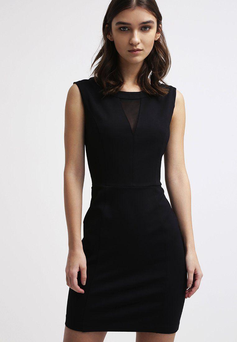 Guess MANUELA Robe en jersey jet black prix promo Robe Femme Guess Zalando  100.00 €