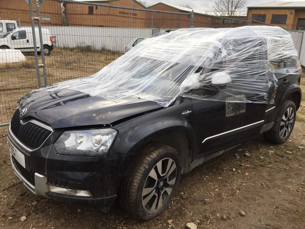 Ebay 2015 Skoda Yeti L K Outdoor Td 4x4 Damaged Repairable