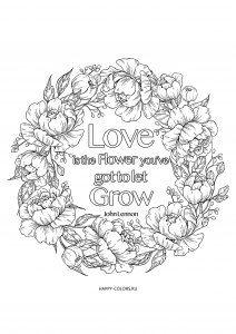 Раскраски цветы распечатать бесплатно формат А4 ...