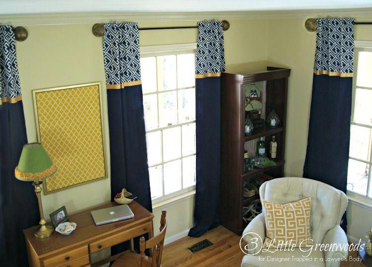 inexpensive window treatments large window fabulous tutorial for diy window curtains add these inexpensive window treatments to your home decor by little greenwoods designer trapped in