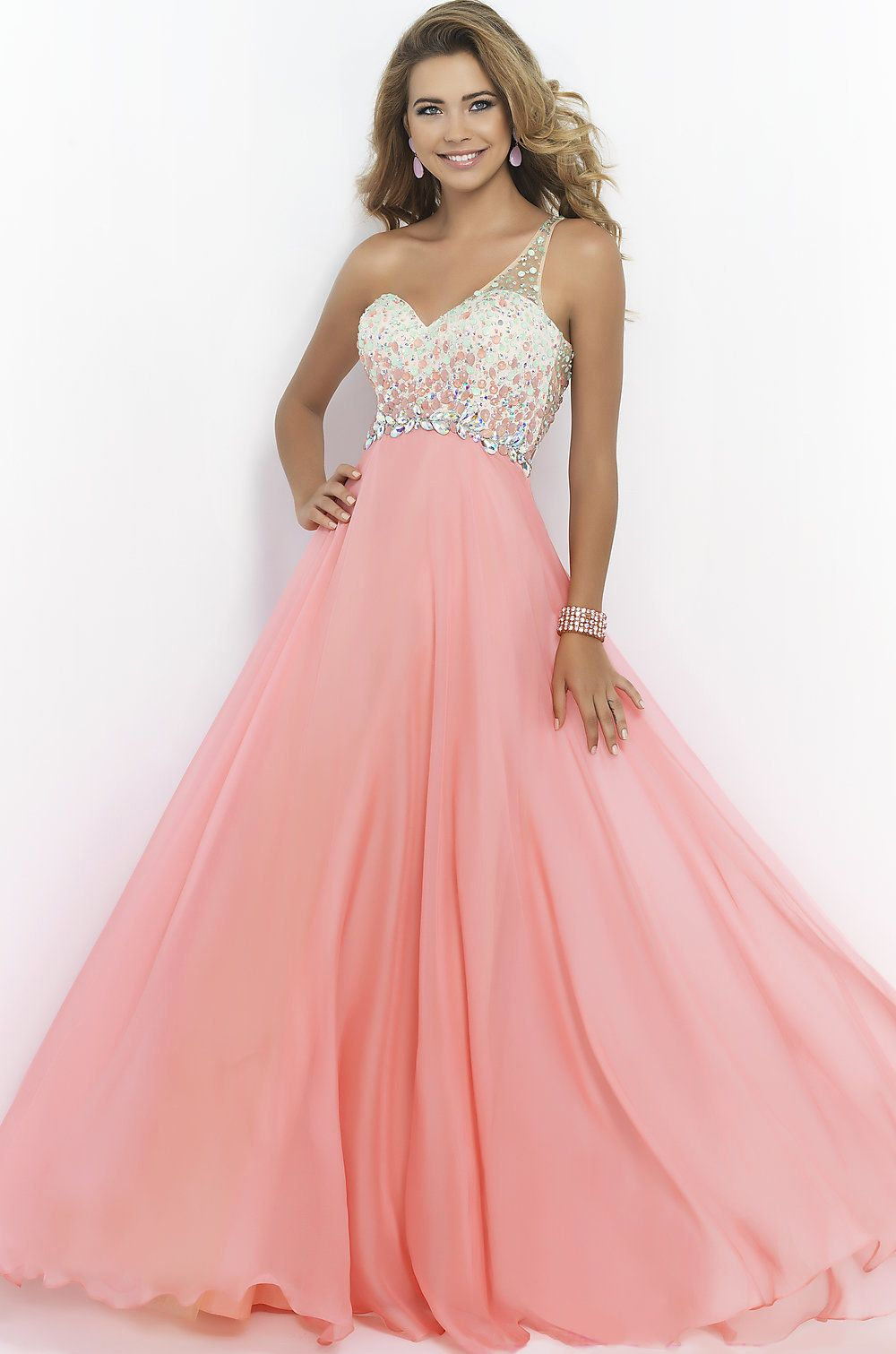 One Shoulder #Prom Dress http://findress.com/goods.php?id=54 ...
