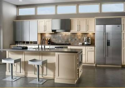 Discover 10 Incredible Kitchen Islands With Seating One Wall Kitchen Beautiful Kitchen Cabinets Kitchen Layout