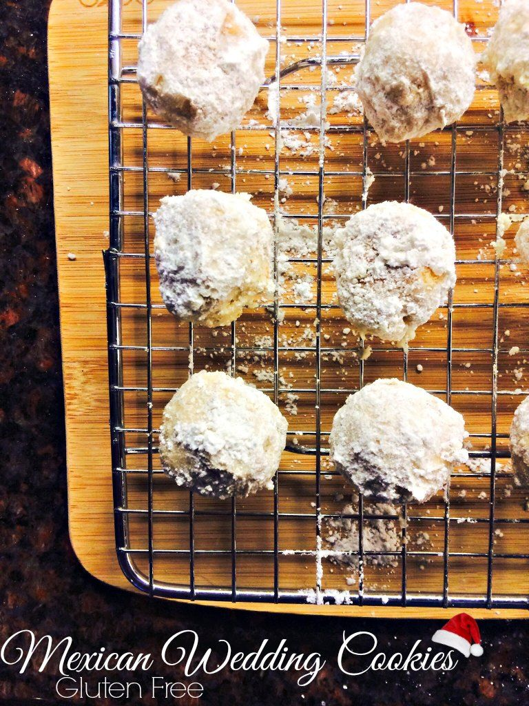 Gluten Free Mexican Wedding Cookies Mexican wedding