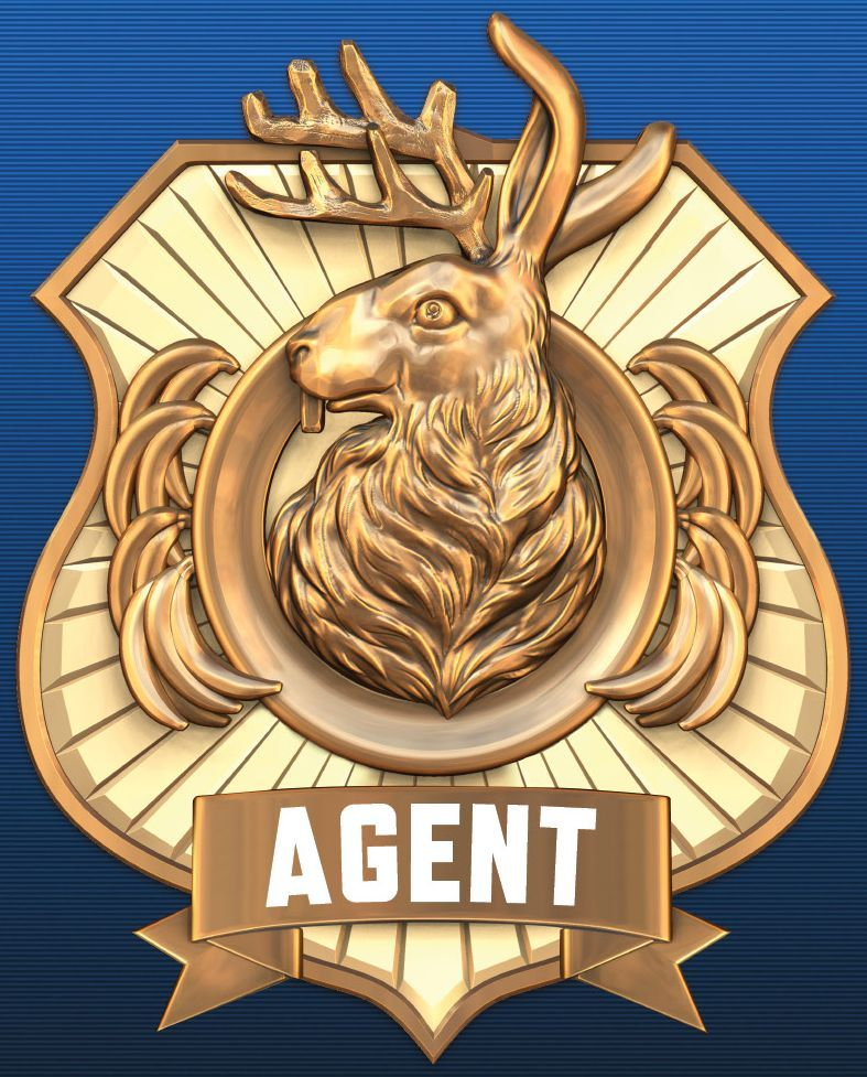 The Agent Badge Odd Squad Badge Odd Squad Costume Badge