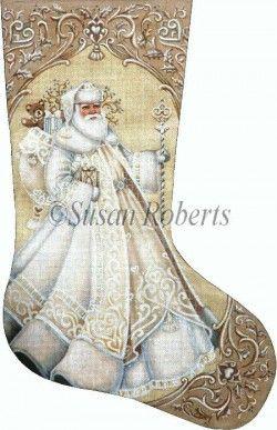 Ivory Santa distributed by Susan Roberts Designs TTAXS383