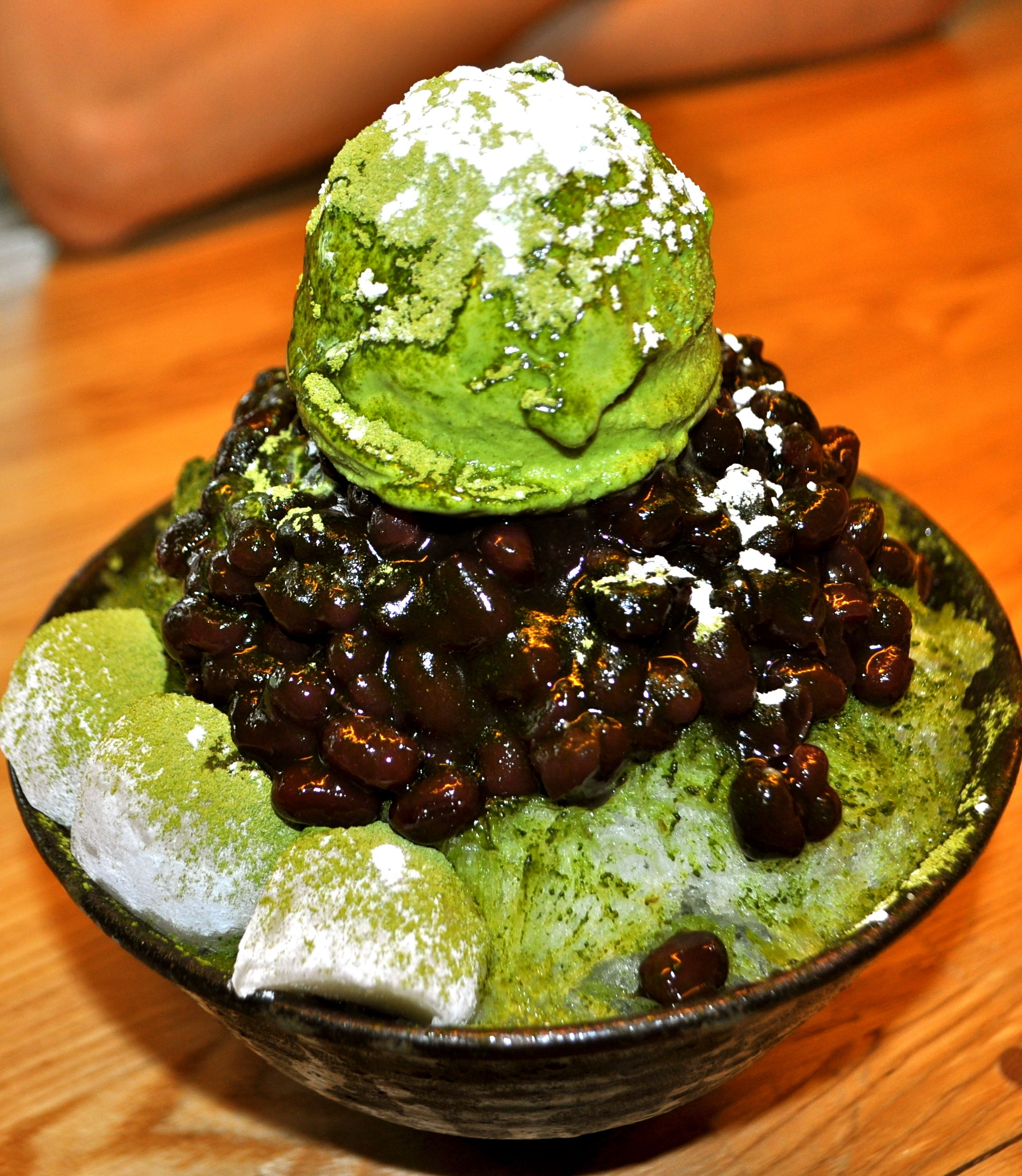Green Tea Bingsu at Diart in Busan, South Korea | Seoul ...