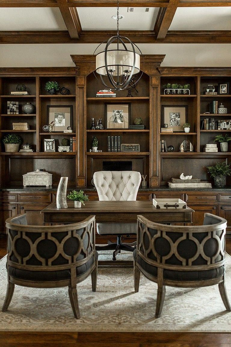 29 Awesome Home Office Design Ideas Homeoffice Homeofficedesign Homeofficeideas Liv Traditional Home Offices Traditional Home Office Home Office Furniture