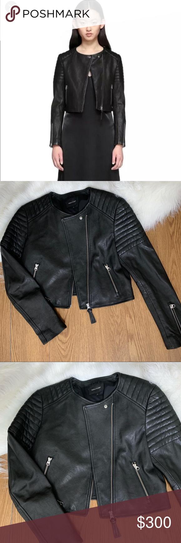 Mackage Mireya Leather Jacket Leather Jacket Mackage Leather Jacket Puffer Jacket Women