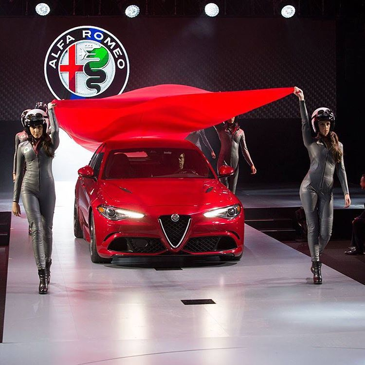 The Stunning Alfa Romeo Giulia Quadrifoglio Was Presented