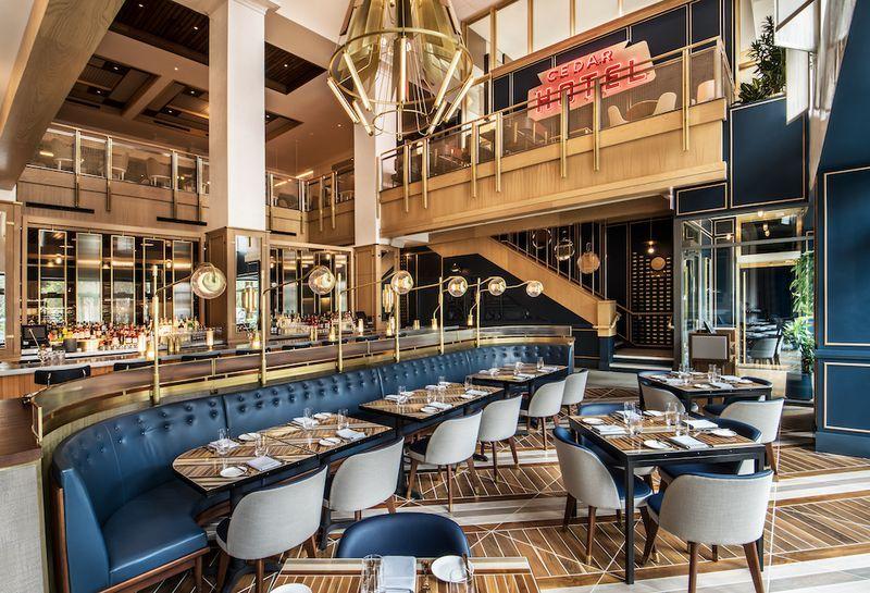 Tour Boka S Ritzy New Gold Coast Restaurant Now Open Restaurant Design Luxury Restaurant Restaurant Interior Design