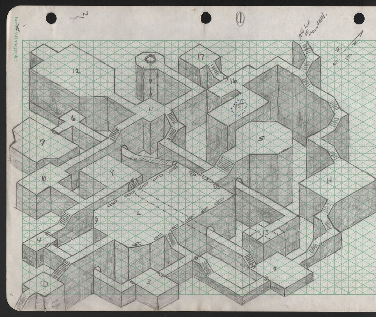 Dungeon Inspiration Isometric Map