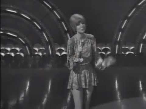 "British pop singer Cilla Black sings her 1969 hit single ""Surround Yours..."