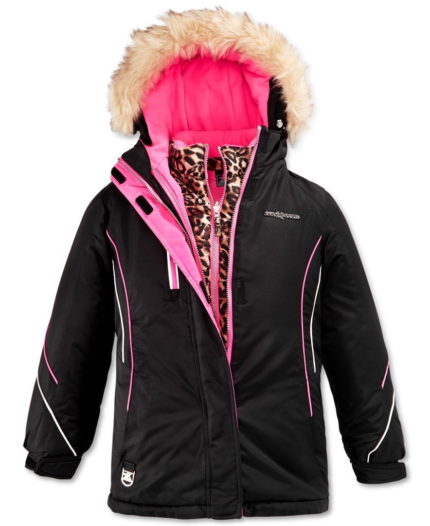 0b6dc8cb2 ZeroXposur Girls' Alex System 3-in-1 Jacket | GIRLS OUTERWEAR | 3 in ...