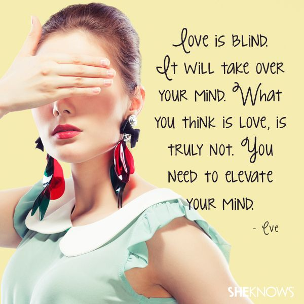 Is love blind