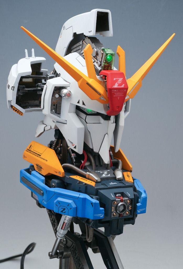 GSM 1/24 scale MSZ-006 Zeta Gundam Head: Modeled by Team AXIS GB & Jim Sung Kun