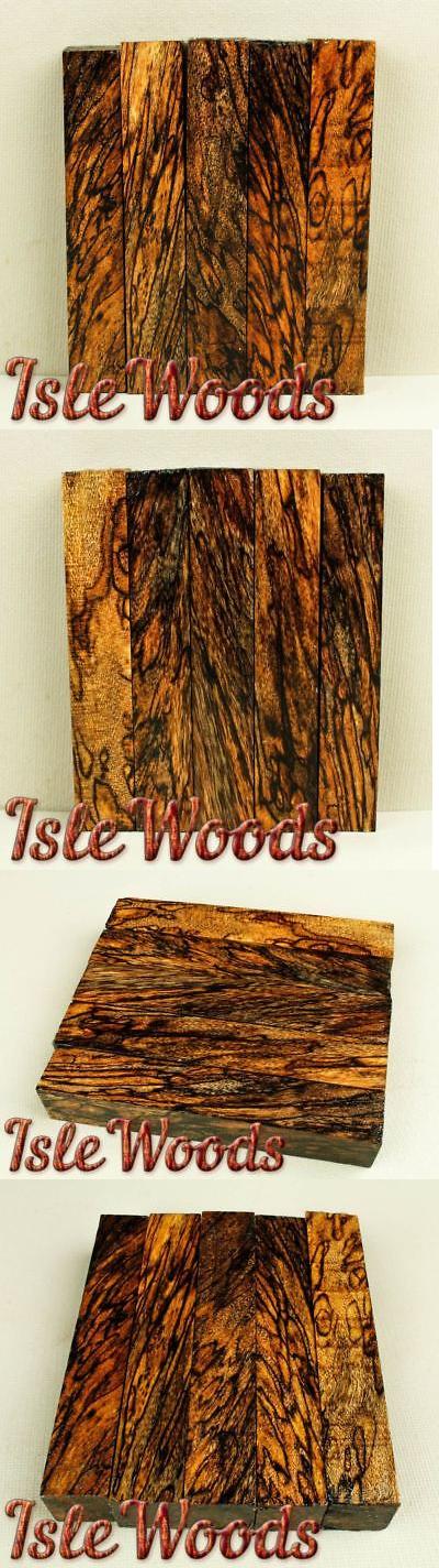 Turning Blanks 71235: Top Figured Spalted Avocado Exotic Wood Pen