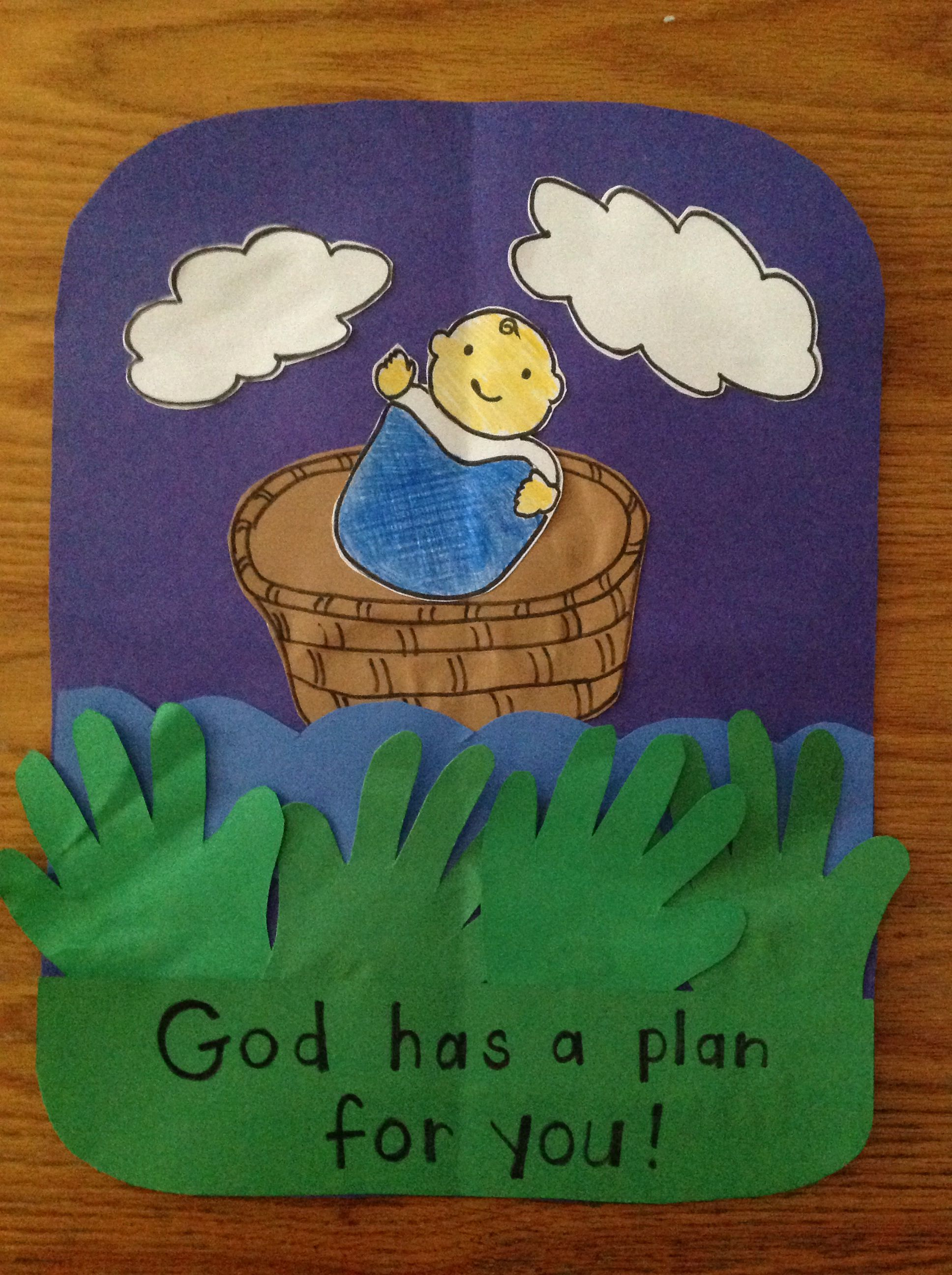 Dream Home Baby Moses Craft