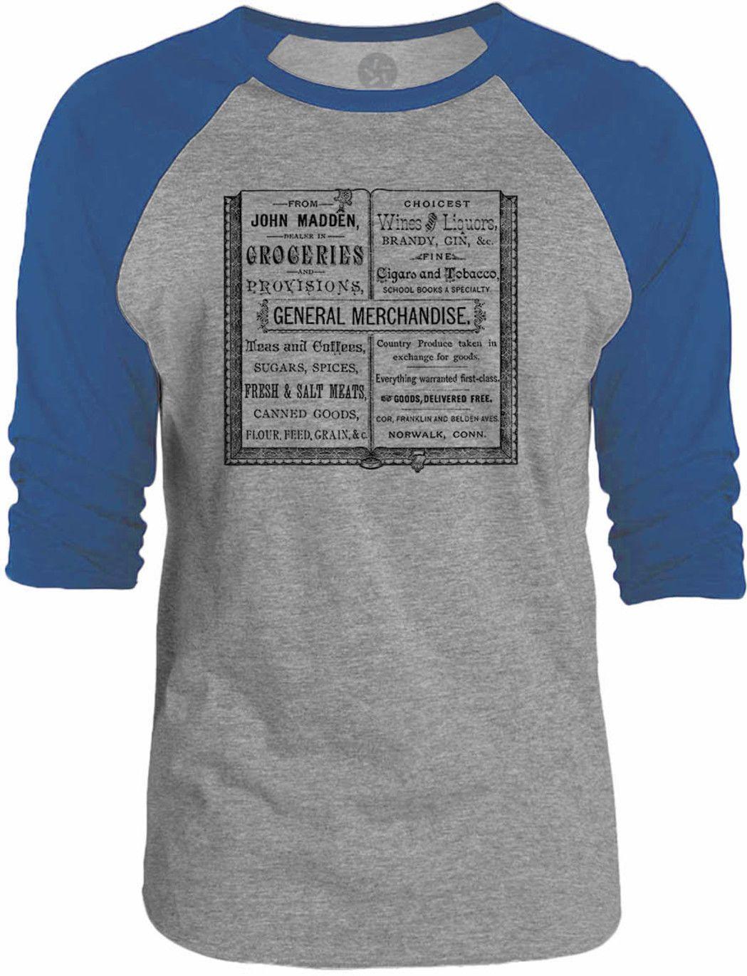 Big Texas Vintage Typography Book 3/4-Sleeve Raglan Baseball T-Shirt