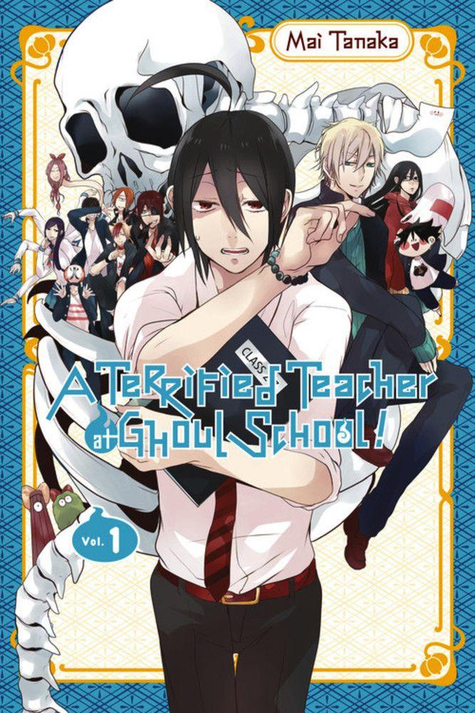 A Terrified Teacher At Ghoul School Vol. 01 Manga Review