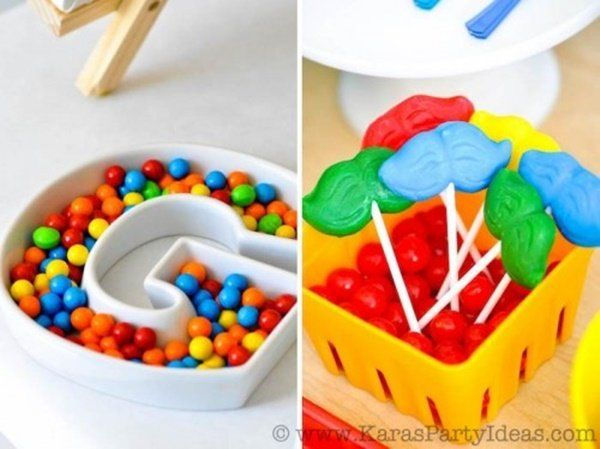Ideas Para Una Fiesta Del Arte Art Party Rainbow Theme Party Colorful Art